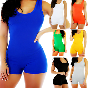 4b1f661669 Image is loading Jumpsuit-V-Neck-Sleeveless-Women-Clubwear-Romper-Party-
