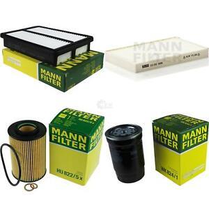Mann Filter Set Hyundai Tucson Jm 2 0 Crdi Awd 9717088 Ebay