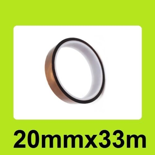 High Temperature Resistant Tape Heat 20mm x 33m for 3D Printer Printer Maker