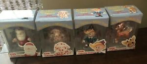 1999-CVS-Enesco-The-Island-of-Misfit-Toys-Christmas-Ornament-set-Of-8-In-Box