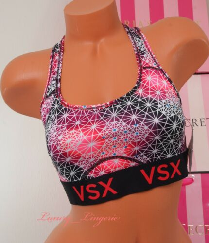 VS Victoria/'s Secret Player VSX Sport Soutien-gorge dos nageur Bralette non doublés M Medium