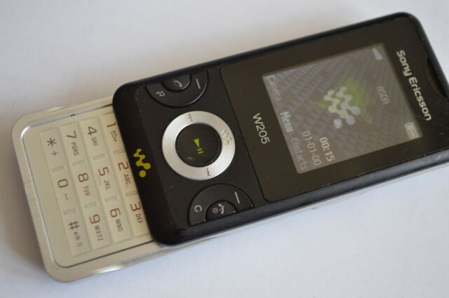 Sony Ericsson Walkman W205 - Ambient black (Unlocked) Mobile Phone