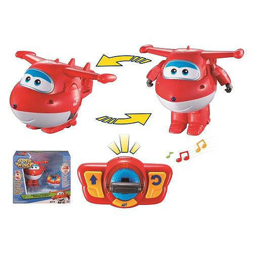 AULDEY SUPER WINGS DANCE TRANSFORMING PLANES REMOTE CONTROL JETT AL35828