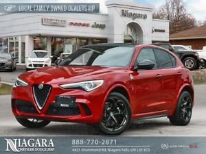 2018 Alfa Romeo Stelvio Quadrifoglio | April 30, 2020 In Service Date