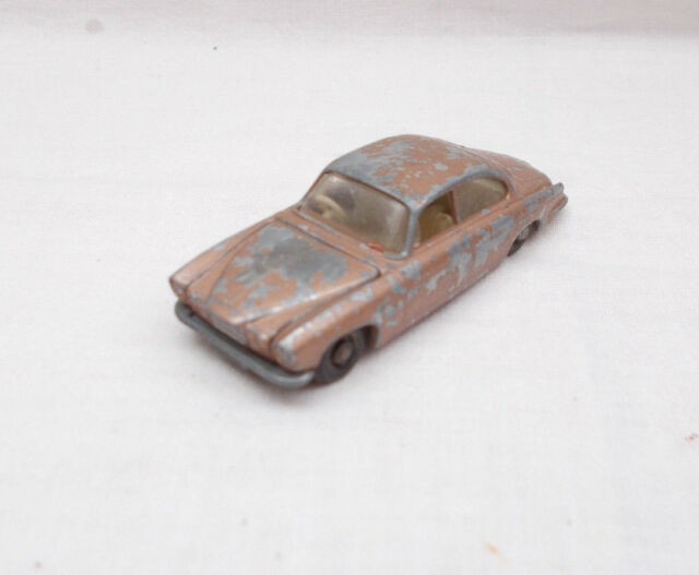 Vintage Matchbox No 28 Jaguar MK 10 Car - Made In England By Lesney