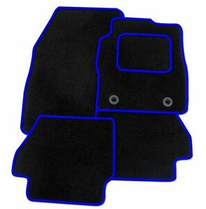 TOYOTA-RAV-4-2013-ON-TAILORED-CAR-FLOOR-MATS-CARPET-BLACK-MAT-BLUE-TRIM