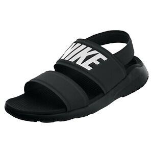 Nike Tanjun Sandal Womens, Black/White