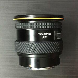 Tokina AF Zoom 20-35mm f/3.5-4.5 Lens, for Minolta/Sony A Mount