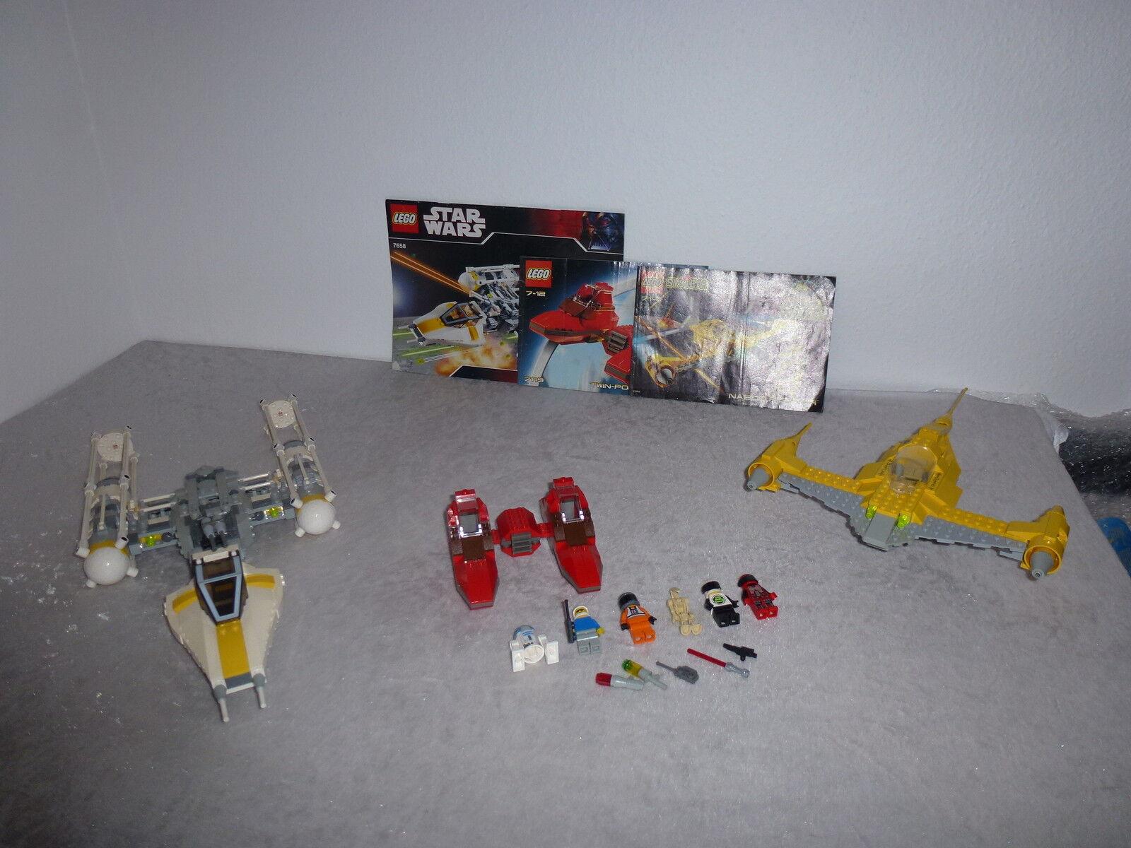 LEGO estrella guerras 7658+7119+7141 del 1999  02 + OBA  rarità  incentivi promozionali