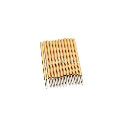 50Pcs P50-B1 Dia 0.68mm Length 16mm 75g  Spear Tip Spring Test Probe Pogo Pin