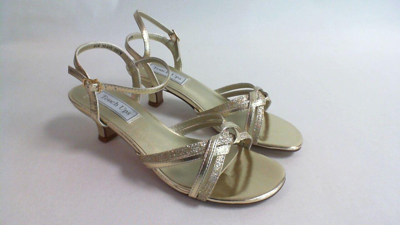 Touch Ups Bridal/Evening Shoes - Gold - Melanie- US 7.5 M UK 5.5 #2R270