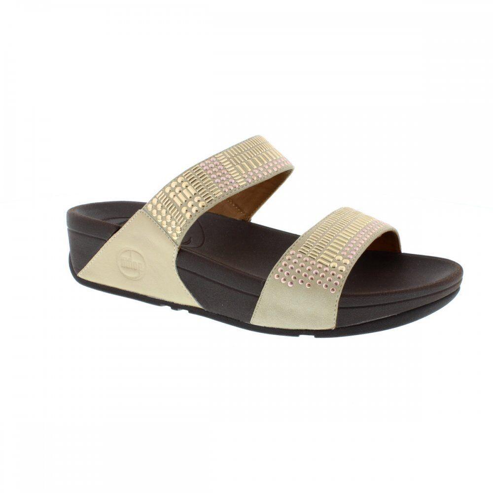 FitFlop Azteken Damen Chada™ Slip Rotgold Damen Azteken Sandalen 639ebb