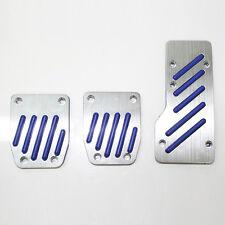 Racing Blu Auto Sport Pedale Calotte Pastiglie Antiscivolo Per Citroen Saxo C1