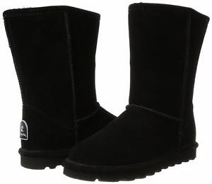 Elle Bearpaw Black Nero Nuovo Bearpaw Neverwet 8 Suede New 8 Neverwet Short Elle Suede Short 5aPwFT1