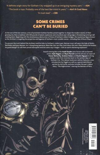 BATMAN GATES OF GOTHAM DELUXE EDITION HC DC COMICS NEW//SEALED