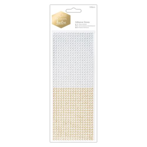 Docrafts Modern Lustre Papermania Craft Collection Adhesive Stones 1530pcs
