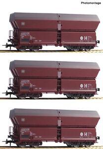 Roco 67082 Set De 3 Wagon Autodécharge Ep Vi Échange D'essieu Sur Demande