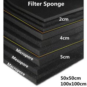 2-4-5cm-0-5m-1m-Biological-Cotton-Filter-Foam-Pond-Aquarium-Fish-Tank-Sponge-Pad