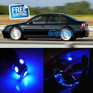 Image Is Loading 12pcs Blue Car Led Interior Lights Package Kit