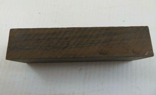 "1.5/"" x 1/"" x 5/"" Ziricote Wood Lumber Blank DIY Material for Music Instrument"