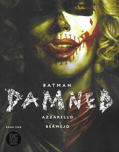 BATMAN-THE-DAMNED-2-NM-HARLEY-QUINN-DC-Comics-2019-Stock-Image