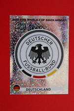 Panini SOUTH AFRICA 2010 259 DEUTSCHLAND BADGE TOPMINT!!