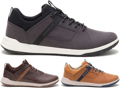 Caterpillar CAT Quest Mod Men/'s Casual Urban Outdoor Leather Trainers Shoes