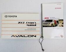 2007 toyota avalon service manual