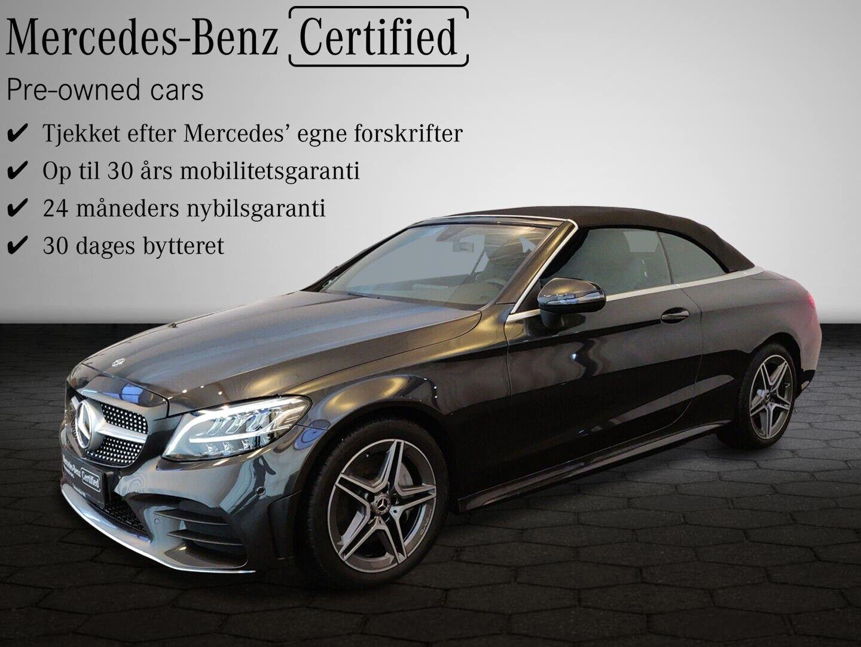 Mercedes C300 2,0 Cabriolet aut. 2d - 714.900 kr.