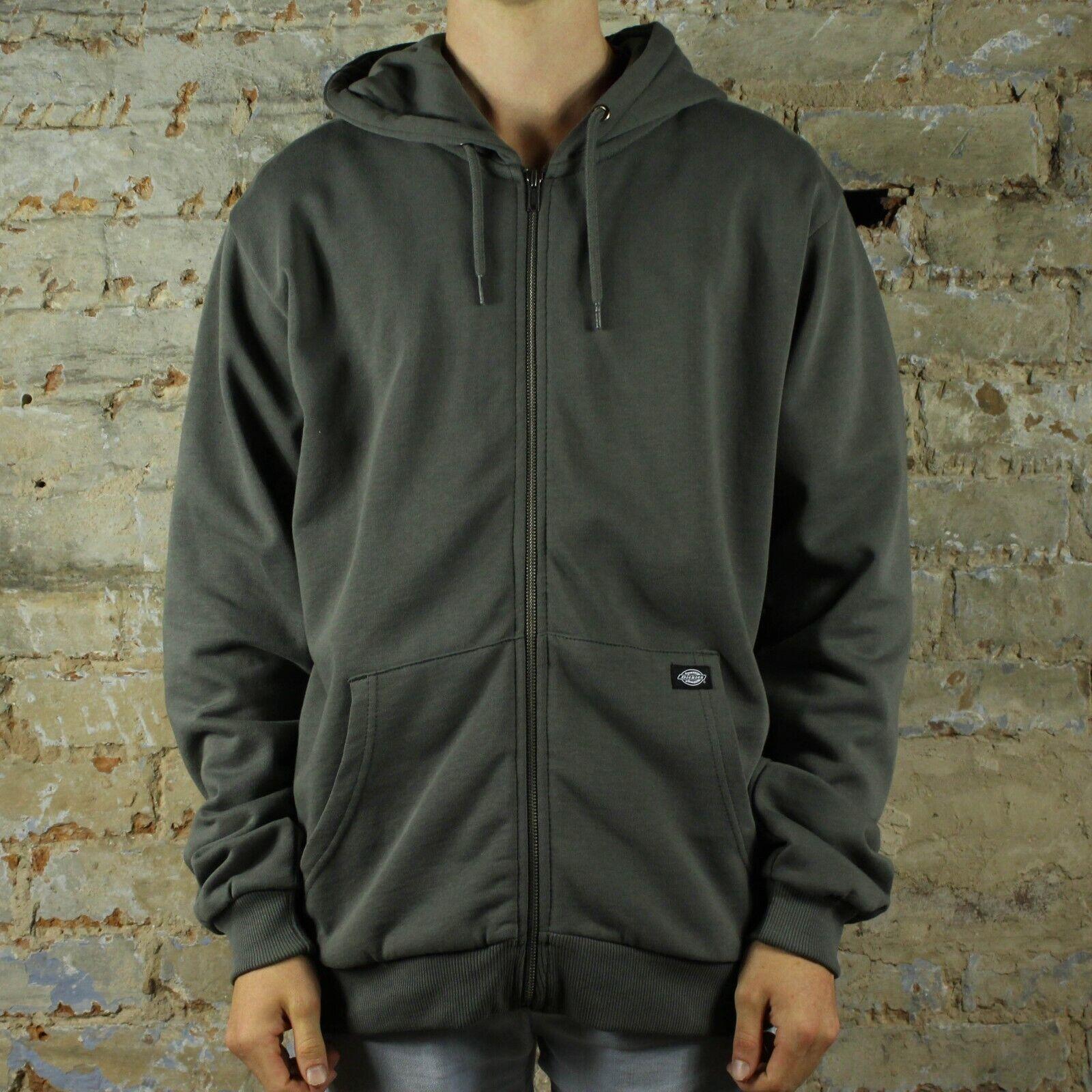 Dickies Kingsley Hooded Sweatshirt – Charcoal grau in Größes M,L