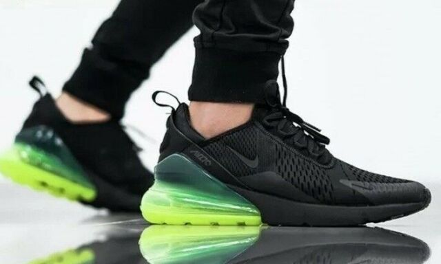 2b5e0403 Nike Air Max 270 Neon Green Black Volt Men Running Shoes SNEAKERS  Ah8050-011 8
