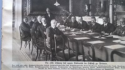1919 25 Weimar Hamburg Kommunisten Putsch Scapa Flow Berlin U-bahn GläNzend