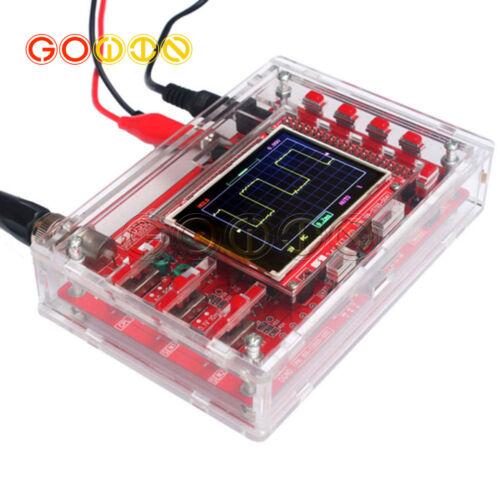 "DSO138 2.4/"" TFT Digital Oscilloscope SMD Soldered Acrylic Case DIY Kit"