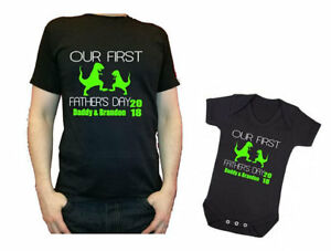 d11a4e5a Our first Father's Day Daddy daddysaurus dinosaur baby dino ...