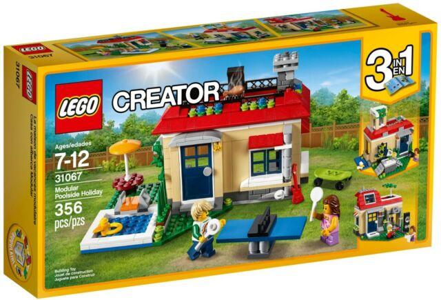 LEGO Creator 31067 MODULAR POOLSIDE HOLIDAY - BRAND NEW/SEALED BOX/Retired