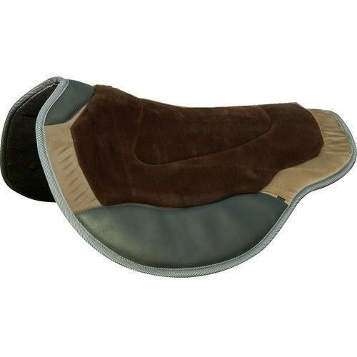 Intrepid International Nouveau en forme d'endurance Saddle Pad Wear Leathers