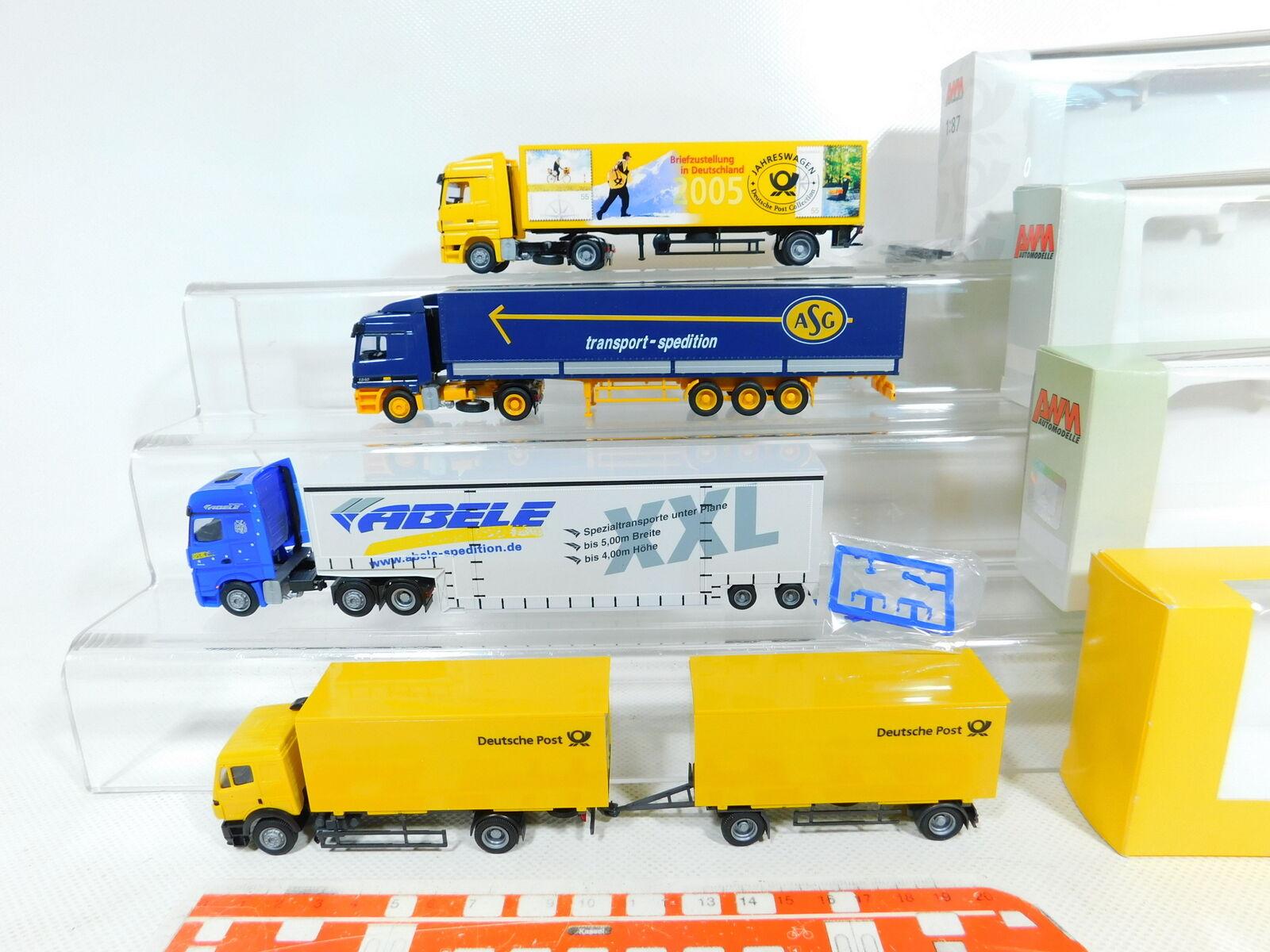 BX356-1 x AWM 1 87   H0 Car MB  6523.02+010558+ 75122+ post,Top + Original Box