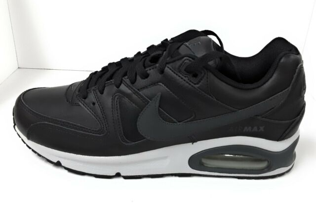 Scarpe Uomo Nike 749760 001 Air Max Command Leather Blackanthracite 7.5