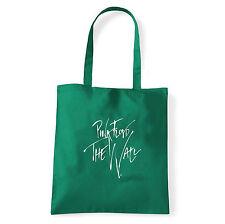 Art T-shirt, Borsa  Pink Floyd The Wall Firma, Verde, Shopper, Mare