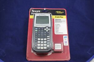 New TI-84 Plus Graphic Calculator Texas Instruments Graphing TI84 +