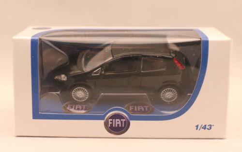 1:43 schwarz NOREV Modellauto//Fiat Nuova Punto 3+// OVP