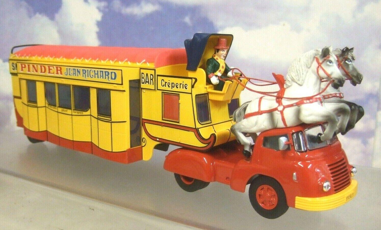 1 43 Cirque Pinder Jean Richard Zirkus Creperie   Snack Leiste Berliet TLB5 &