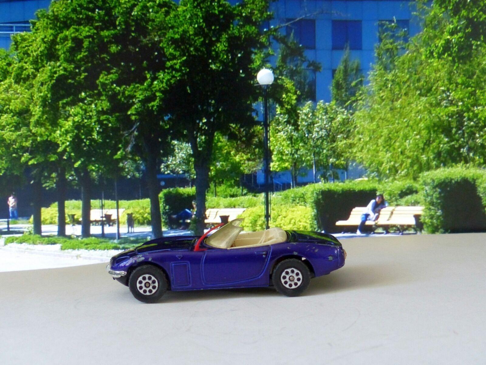 Corgi Toys Whizzwheels 375 Toyota 2000GT in purple