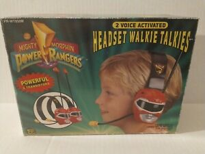 Mighty Morphin Power Rangers In Box Walkie Talkies 1994 Saban RARE FIND