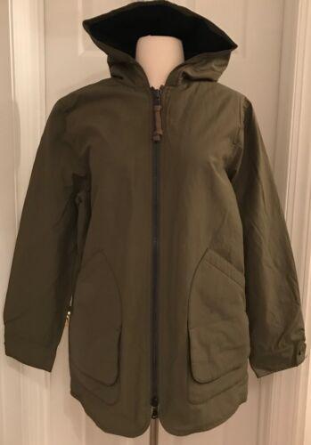 Størrelse crew J lined Loden S Jacket Hooded J6242 Fleece Green dfqqRCXw