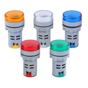 LED Display Digital Mini Voltmeter AC 60-500V Voltage Meter Gauge Tester Monitor