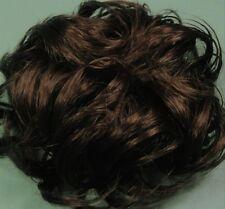 LACEY 3 inch Pony Fastener Hair Scrunchie - 6 Dark Chestnut Brown