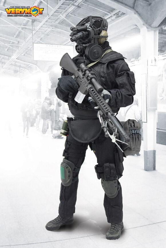 1021 -S (O) 1  6 Mycket varm SDU 2.0 Sniper (Inte inlindad huvud - skulptur och kropp)