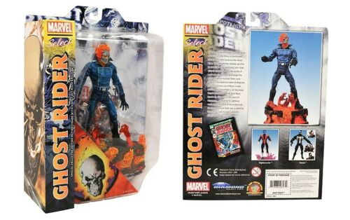Marvel Select Ghost Rider Special Collector Edition Action Figure Damaged Pkg