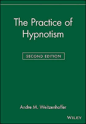 1 of 1 - USED (GD) The Practice of Hypnotism by Andre M. Weitzenhoffer